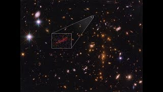 NASA has first close look at distant galaxy from dawn of the universe
