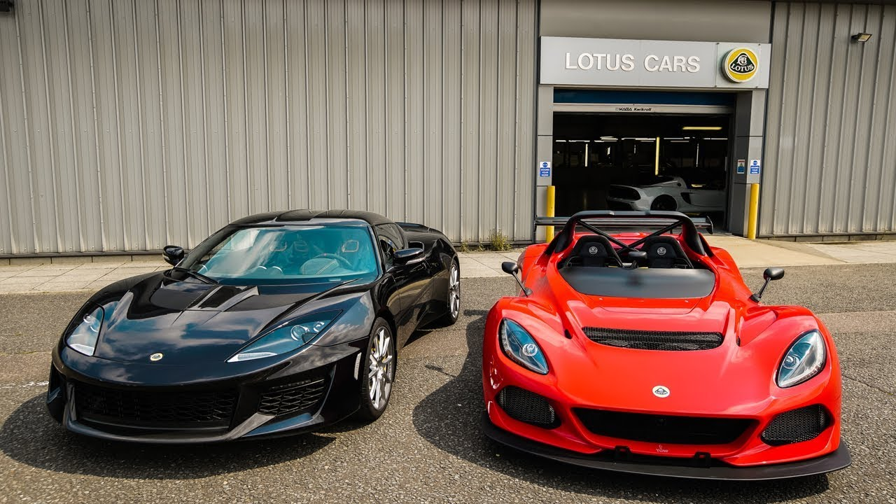 EXPERIENCE TWO INSANE LOTUS CARS! - YouTube