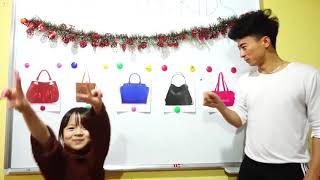 Hunter Kids Go To School Learn Color hand bag | Classroom Funny Nursery Rhymes