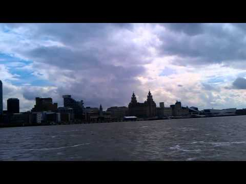 The City of Liverpool. Mersey River, UK / 2012