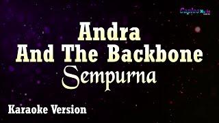 Andra And The Backbone - Sempurna (Karaoke Version)