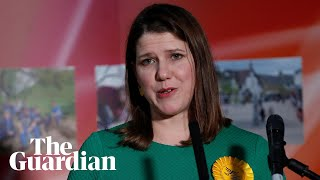 Jo Swinson Warns Against And39wave Of Nationalismand39 As She Loses Seat To Snp