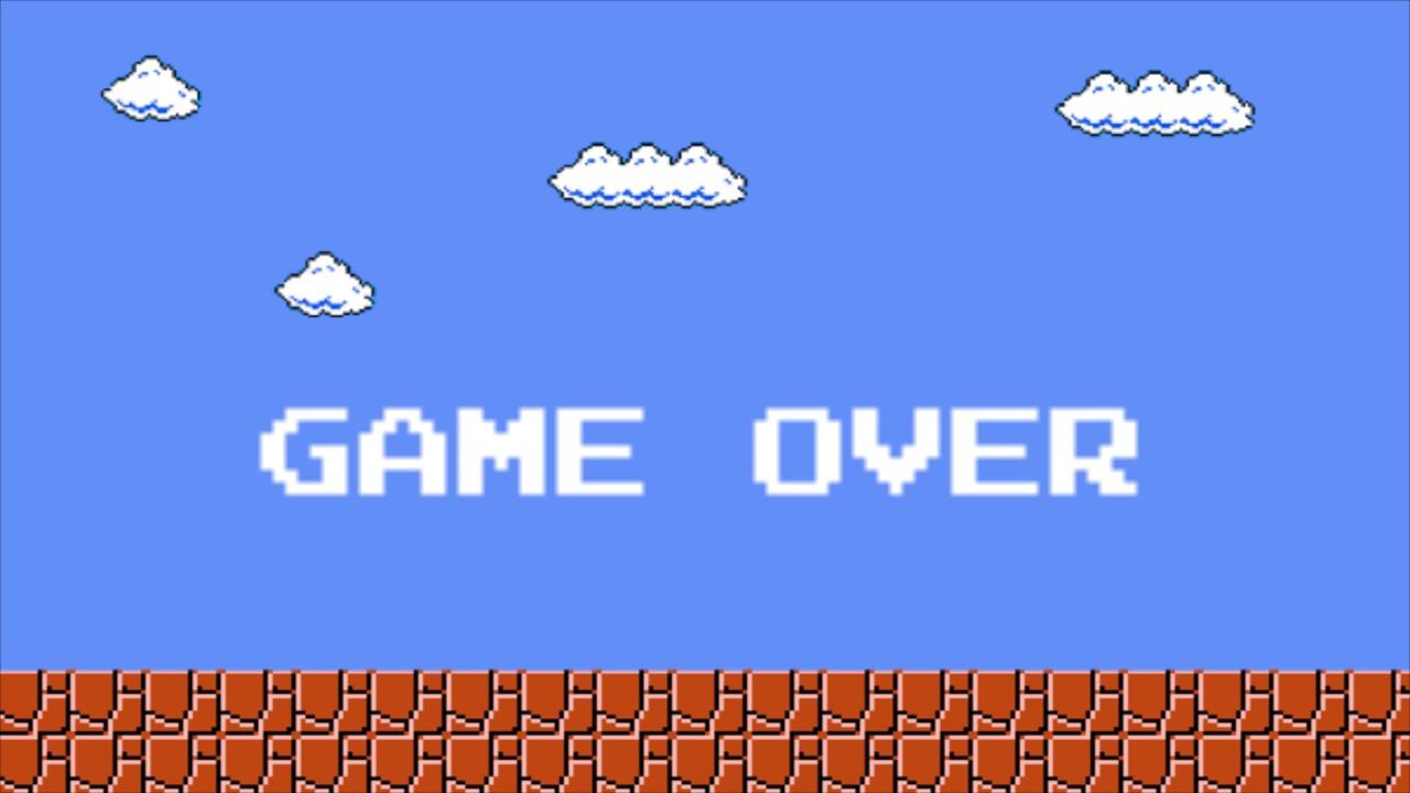[Super Mario Bros] GAME OVER - Sound Effect [Free Ringtone Download]