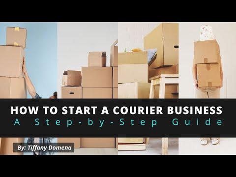 How to Start a Courier Business Step-by-Step