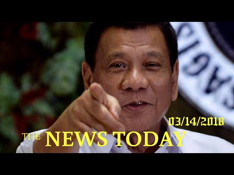 Duterte To Withdraw Philippines From ICC After 'outrageous Attacks' | News Today | 03/14/2018 |...