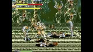 Aliens vs Predator Arcade Emulator Game Play Part 1