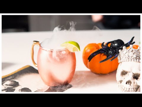 Ryan Seacrest - How to Make Sp0o0oky Dry Ice Cocktails This Halloween! Watch