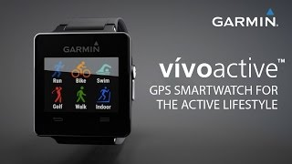 01. Garmin vívoactive™: GPS Smartwatch for the Active Lifestyle