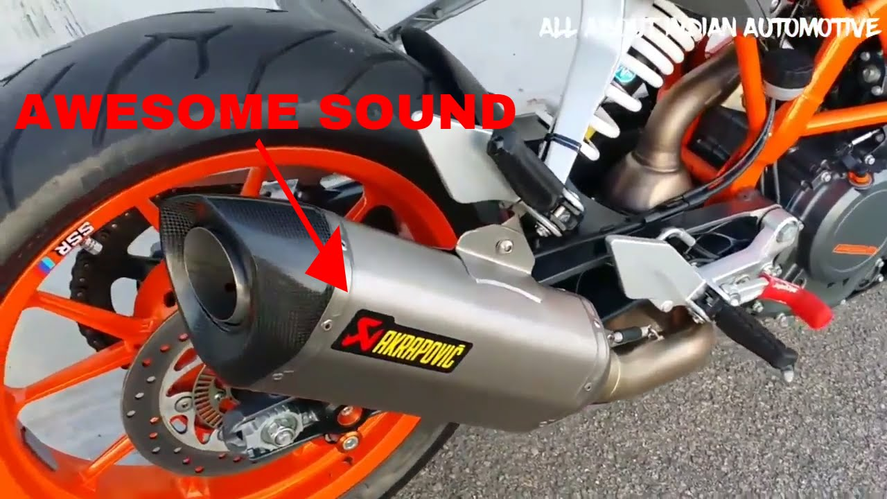 Ktm Rc R  Exhaust