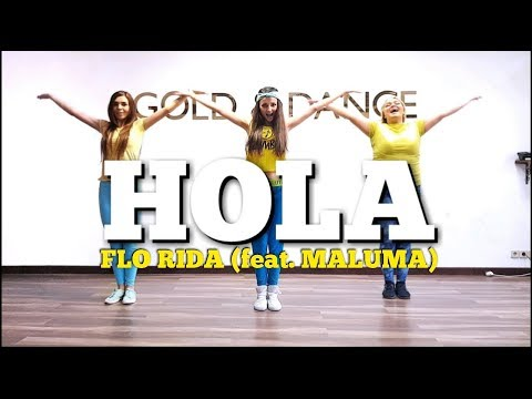 HOLA - Flo Rida (feat. Maluma) | Zumba Fitness | Dance choreo by M.Belchikova