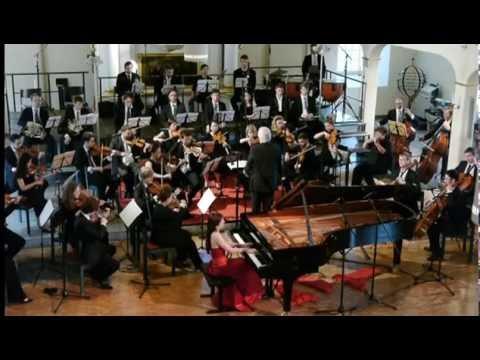 Ekaterina Litvintseva live: F. Chopin Piano Concerto No.2 in F minor Op. 21 2nd mvt, Larghetto
