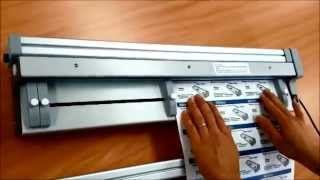 A3 / SRA3 size Electric Exchangeable Blade Paper Cutter