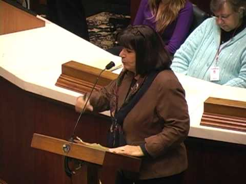 Rep. Linda Lawson Speaks Before the Right to Work Vote
