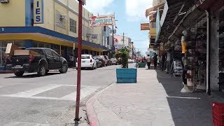 Walking Around Belize City - Belize Video Walk | HD 🇧🇿