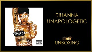 Rihanna - Unapologetic (Standard Edition) Unboxing