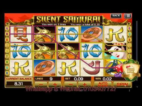 Silent Samurai Slot Game - Malaysian Version by Scr88Luck - 동영상