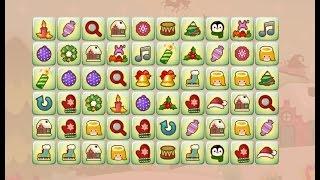 Сказочный Маджонг Рождество найди пару игра в коннект Dream Christmas Link