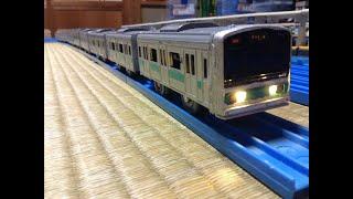 プラレール紹介 第433回 209系1000番台 常磐線各駅停車 改造