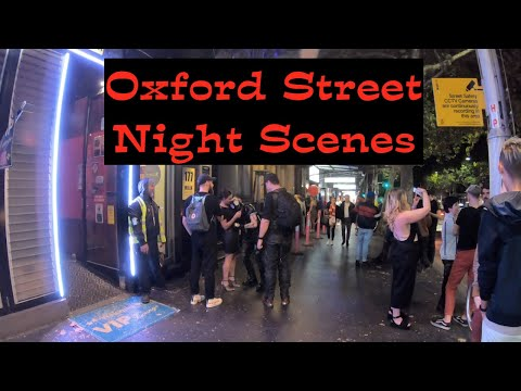 Oxford Street Sydney Night Scenes 2019 (HD)