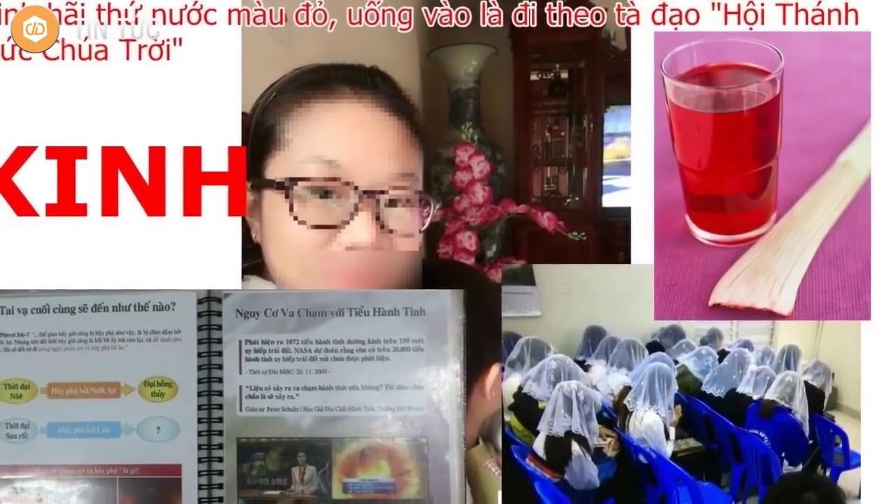 HỘI THÁNH ĐỨC CHÚA TRỜI: Uống nước thánh đỏ vứt bỏ tổ tiên - YouTube
