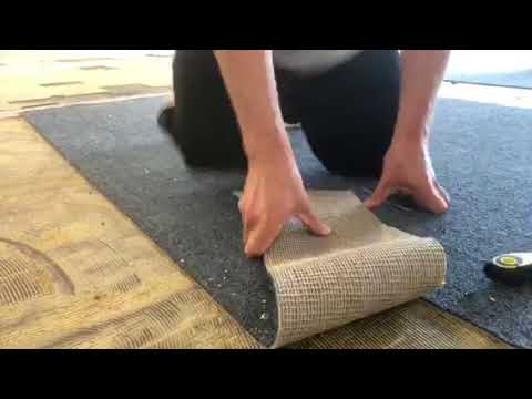 Remove Glued Indoor Outdoor Carpet, How To Adhere Outdoor Carpet Concrete
