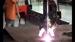 5 axis cnc plasma bevel cutting machine