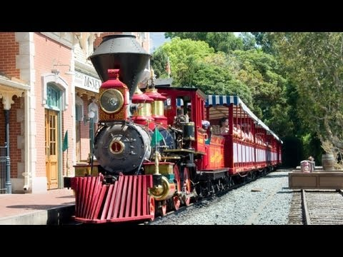 The Disneyland Railroad (in HD)