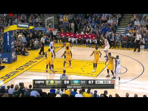 Indiana Pacers vs Golden State Warriors | January 22, 2016 | NBA 2015-16 Season