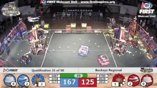 Qual 35 - 2017 Buckeye Regional
