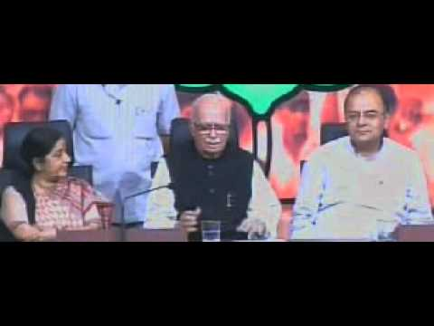 How LK Advani reacted on Narendra Modi related questions on his yatra