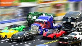 Transformers Movie 4 AOE Optimus Prime Galvatron Hound Bumblebee Crosshairs Vehicle Car Robot Toys
