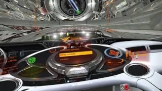 Elite Dangerous Oculus Rift CV1 | Cutter Cockpit & Station Tour