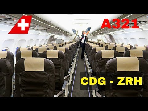 FLIGHT REPORT | SWISS AIRBUS A321 (economy) | PARIS - ZURICH