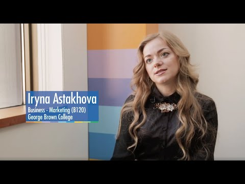 #WhyGBC Ukraine Testimonial - George Brown College International