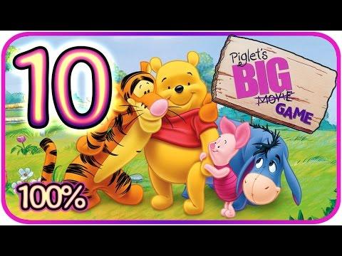 Piglet's Big Game Walkthrough Part 10 (PS2, Gamecube) Tigger's Dream Part 1 [100% - HD]