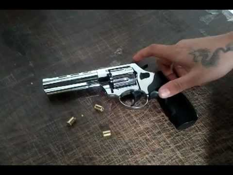 Blank Firing Revolver Firing Demonstration