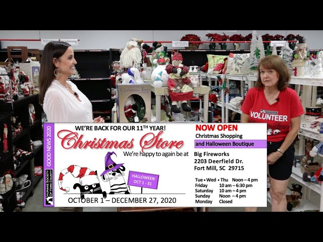 Humane Society of York County Christmas Store 2020