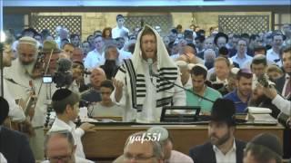 לשמוע אל הרנה ואל התפילה יצחק מאיר סליחות תשע'ו ביה'כ ישרון ירושלים