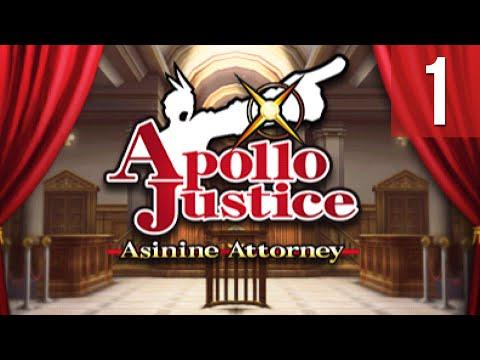 Ace Attorney Theater ~ Apollo Justice: Asinine Attorney #01 (1/2)