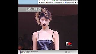 JUNIA WATANABE Fall 2005/2006 Paris - Fashion Channel