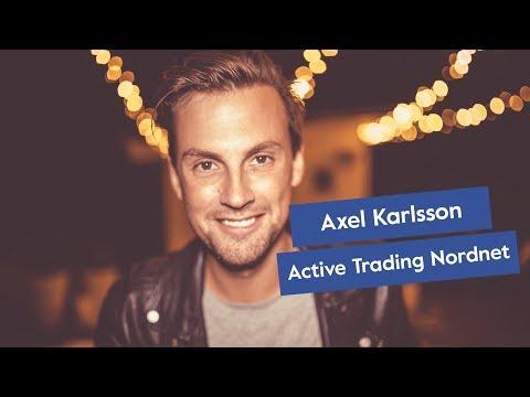 Träffa Active Trading Manager på Nordnet - Axel Karlsson - Tradingbloggen