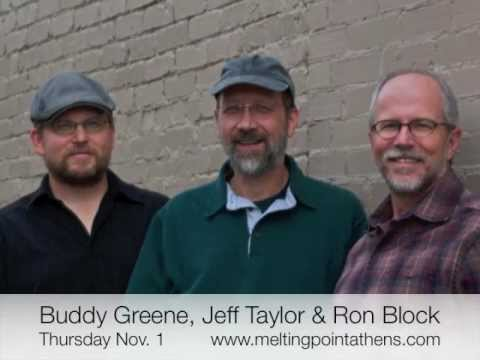 Buddy Greene, Jeff Taylor & Ron Block in Athens Nov 1, 2012