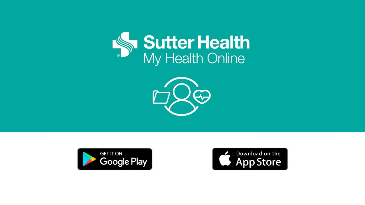 Sutter Health's My Health Online App for Apple and Google Play - YouTube