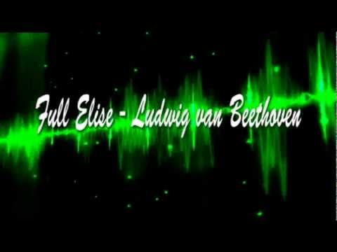 """Full Elise - Ludwig van Beethoven - Now playing at """"LLL3 Music"""" it's Classical Paradise!"""