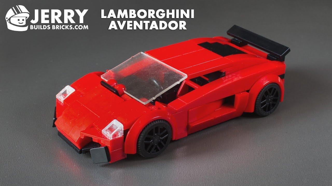 Lego Lamborghini Aventador Instructions Moc 65 Youtube