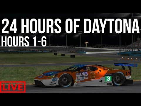 iRacing - 24 Hours Of Daytona  | Hours 1 - 6 |