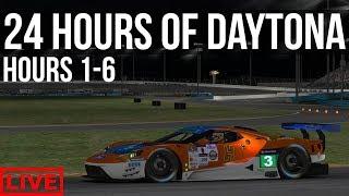 iRacing - 24 Hours Of Daytona Full Race   Hours 1 - 6