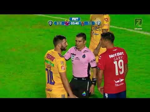 Veracruz vs Tigres - Veracruz se deja anotar 2 GOLES!