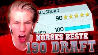 NORGES FØRSTE 190 FUT DRAFT PÅ YOUTUBE!?