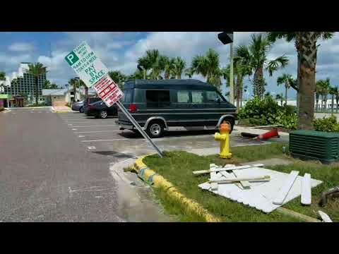 After Hurricane Irma in Daytona Beach, Fl